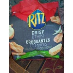 Ritz crisp & thins cheese and onion