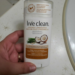 Live Clean cool and fresh deodorant