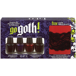 OPI Go Goth Halloween 2010 4-pack Mini Collection