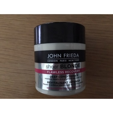 John Frieda Sheer Blonde Flawless Recovery Deep Conditioner