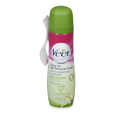 Veet - Spray on Hair Removal Cream - Dry Skin