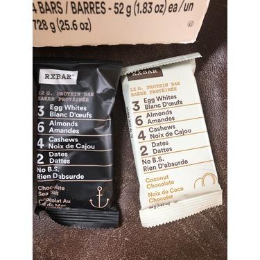 Rx bar chocolate sea salt