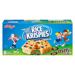 Rice Krispies Squares m&m;'s minis
