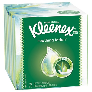 Kleenex Facial Tissue With Lotion