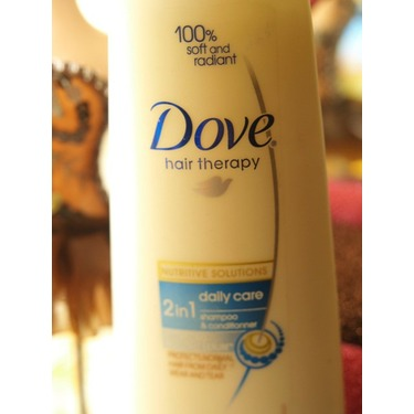 Dove Nutritive Solutions Daily Moisture 2-in-1 Shampoo and Conditioner