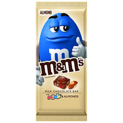 M&M;'s Milk Chocolate Bar with M&M;Minis and Almonds