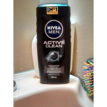 Nivea active clean shower gel