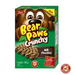 Bear Paws Crunchy Milk Chocolate