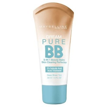 Maybelline Dream Pure BB 8-in-1 Skin Clearing Perfector, Deep