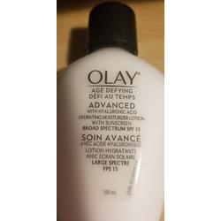 Olay Age Defying Advanced Gel Moisturizer with Hyaluronic Acid