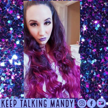 Splat Hair Dye Ombre (Pink&Purple;)