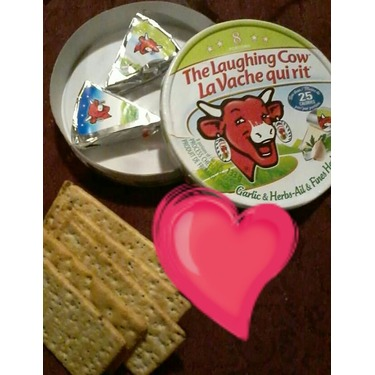 The Laughing Cow Garlic & herbs cheese spread