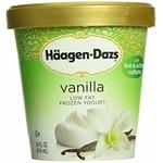 Haagen-Daz Low Fat Frozen Yogurt Vanilla