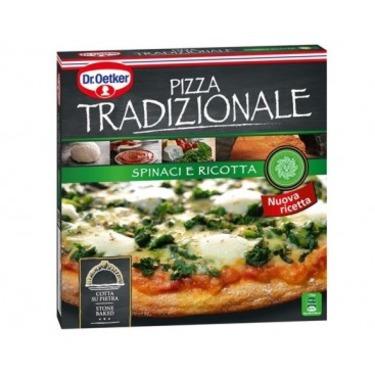 Pizza Tradizionale Spinace Ricotta