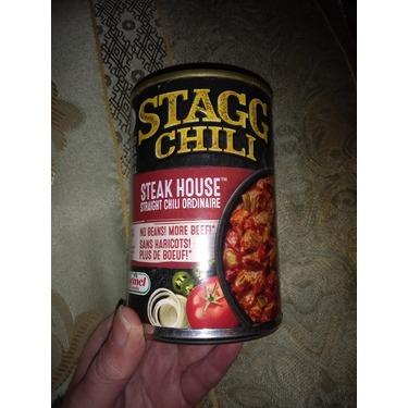 Stagg chili steak house