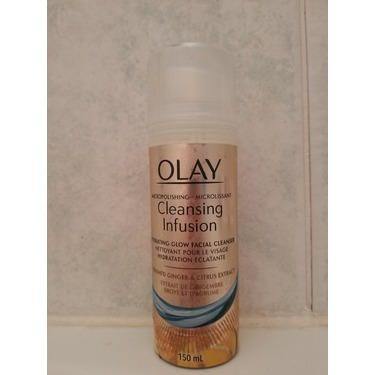Olay Micropolishing Cleansing Infusion Facial Cleanser Ginger