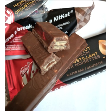 KIT KAT Hazelnut Crunch Wrapped Bars
