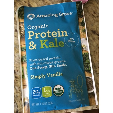 Plant-Based Protein By Amazing Grass