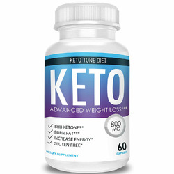 Keto Tone Diet Advanced Weight Loss Ketosis Supplement