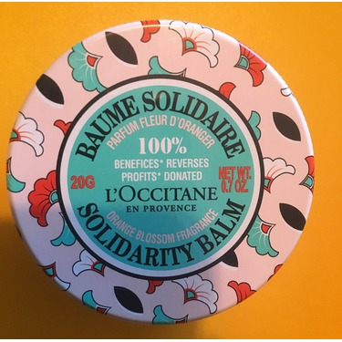 Shea Orange Blossom Fragrance Solidarity Balm by L'Occitane