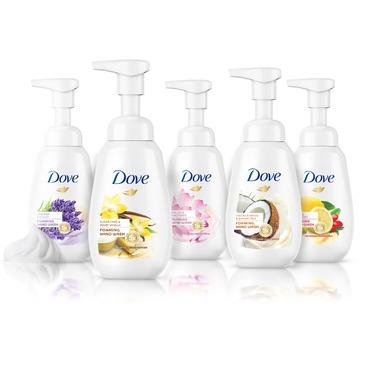 Dove foaming hand soap