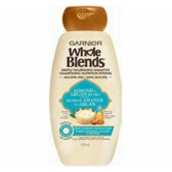 Garnier Whole Blends Almond & Argan Riches for Very Dry, Unruly Hair Shampoo