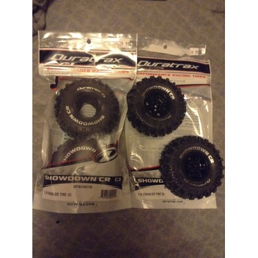 Duratrax performance racing tires