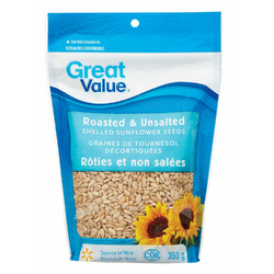 Great Value Roasted & Salted Sunflower Seeds