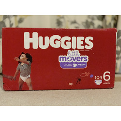 Huggies Little Movers - Size 6 (104 pk)