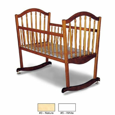 CONTINENTAL ROCKING CRADLE - NATURAL