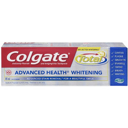 Colgate total advance health whitening