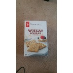 Wheat square crackers