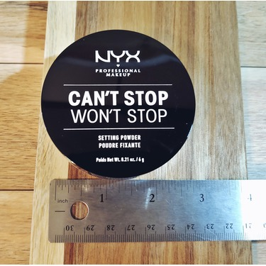 NYX  Can't Stop Won't Stop Setting Powder