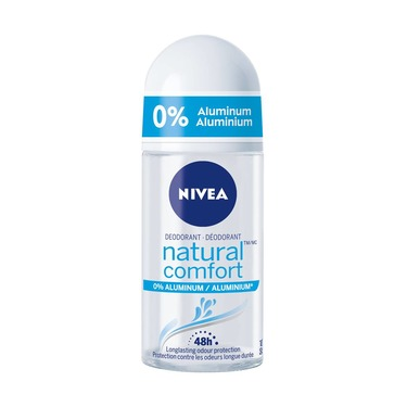 Nivea Natural Comfort Roll on Deodorant 0% Aluminum