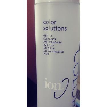 Ion Color Defence clarifying shampoo