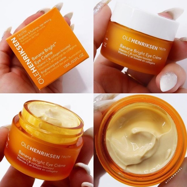 Olehenriksen Banana Bright Eye Creme Reviews In Eye Creams
