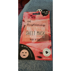 Oh k brightening watermelon sheet mask with vitamin C