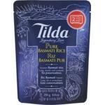 Tilda Pure Steamed Basmati Rice