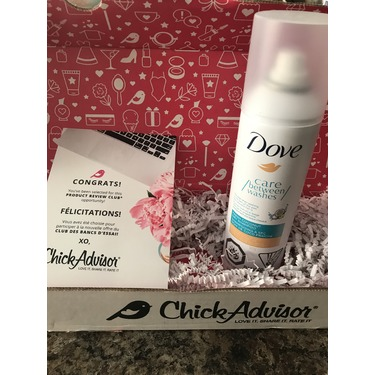 Dove Care Between Washes Fresh Coconut Dry Shampoo