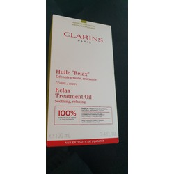 clarins huile relax bodt treatment