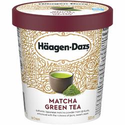 Haagen Dazs Matcha ice cream