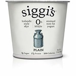 Siggi's Plain yogurt