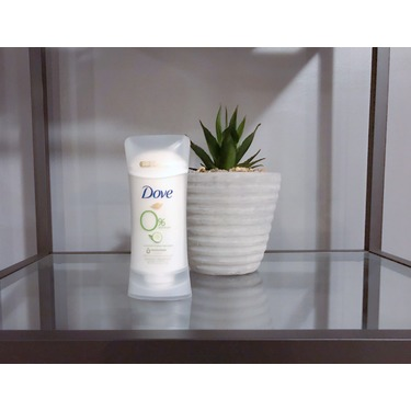 Dove 0% Aluminum Deodorant Cucumber & Green Tea Scent