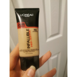 loreal 24hr infallible pro-matte foundation