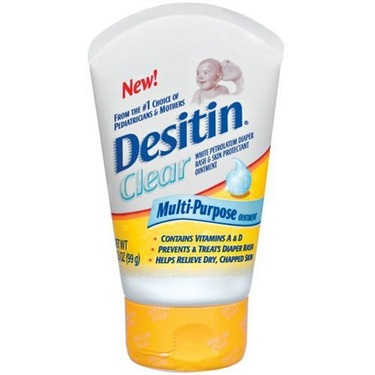 Desitin Clear Multi-Purpose Ointment, 3.5-Ounce Tubes (Pack of 3)
