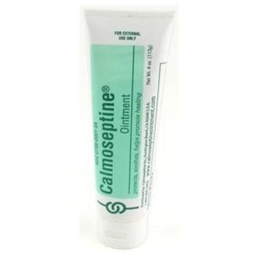 Calmoseptine diaper rash ointment tube - 4 oz, 6 pack