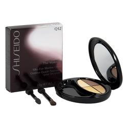 Shiseido silky eye shadow quad in wood tones