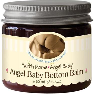 Earth Mama Angel Baby Angel Baby Bottom Balm, 2-Ounce Jars (Pack of 3)