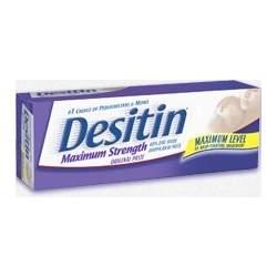 Desitin Diaper Rash Ointment Tube - 4 oz