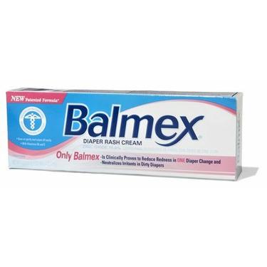Balmex Zinc Oxide Diaper Rash Cream 4 oz.